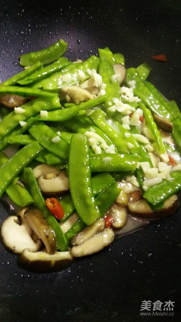 香菇荷兰豆怎么煮