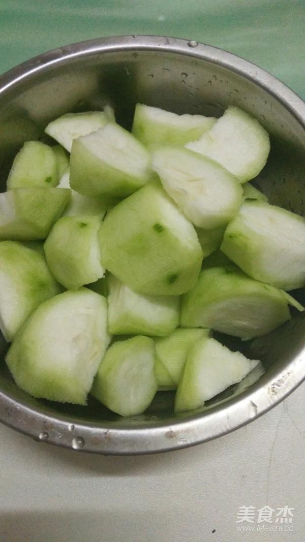 老油条炒丝瓜的家常做法