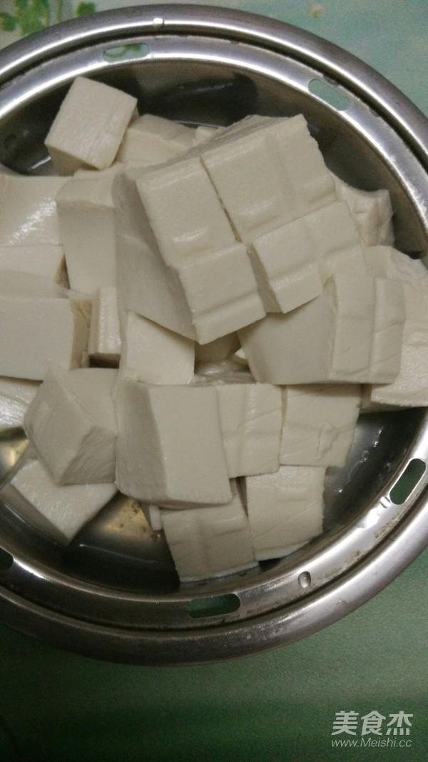 小白菜豆腐汤的家常做法