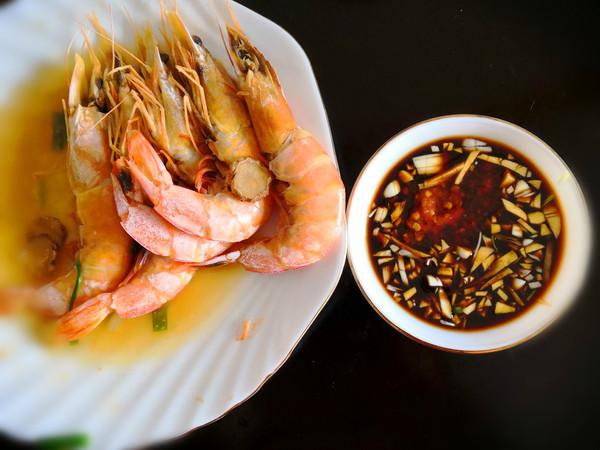 清蒸海虾怎么煮