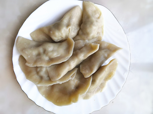 猪肉馅莜麦饺怎么吃