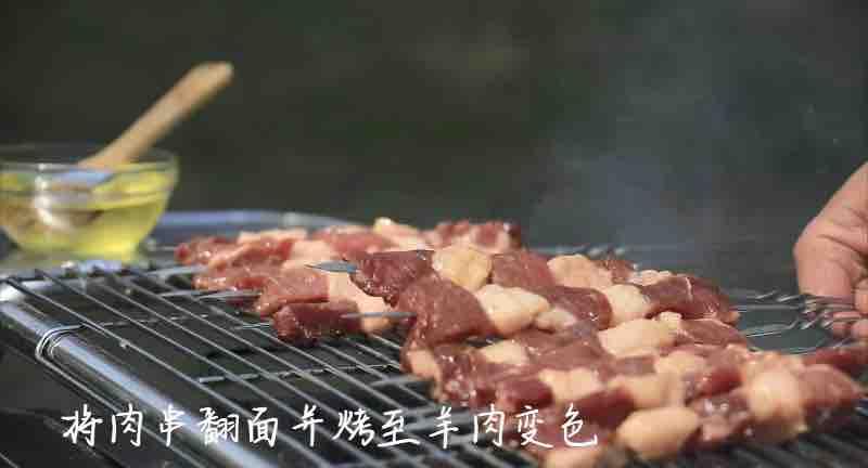 烤羊肉串的简单做法