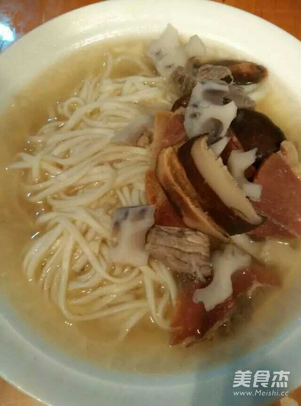 金华火腿汤面的简单做法