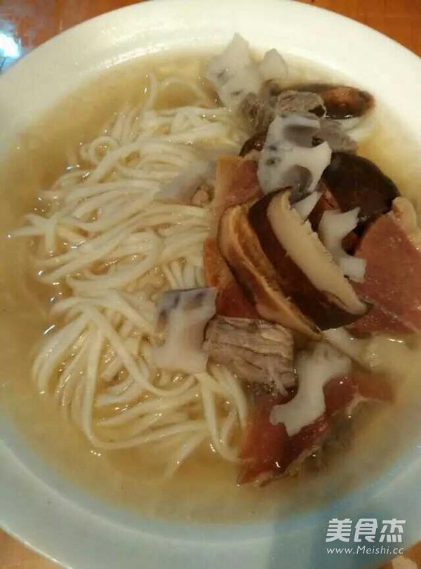 金华火腿汤面怎么吃