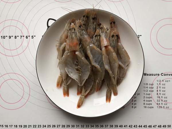 蒜蓉蒸虾的做法图解
