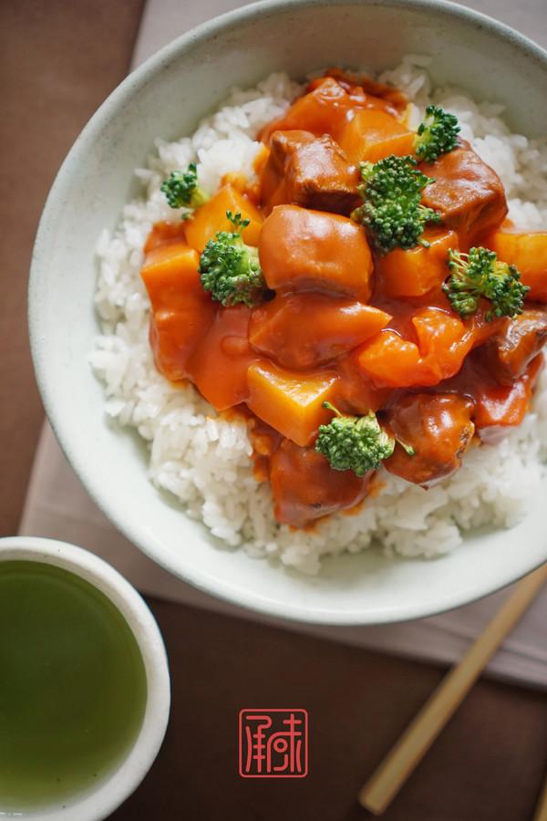 承味日式咖喱鸡排饭怎么炒