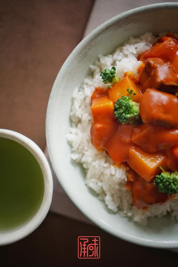承味日式咖喱鸡排饭怎么煮
