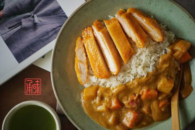 承味日式咖喱鸡排饭怎么炖