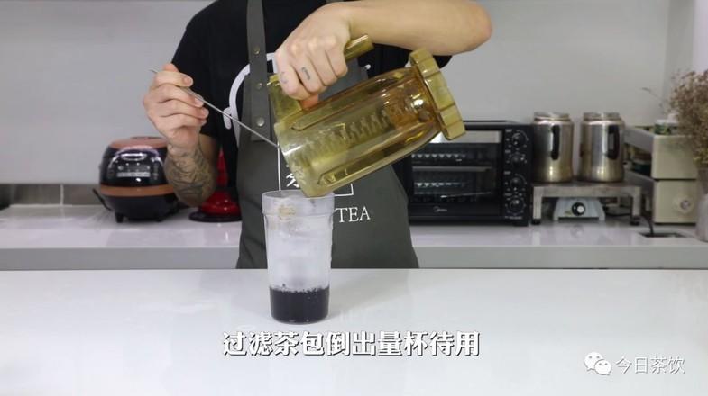 黑枸杞菊花爆柠茶的家常做法