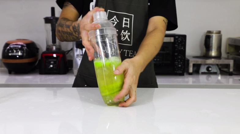 秋葵柠檬茶——今日茶饮免费奶茶培训 饮品配方做法制作视频教程的简单做法