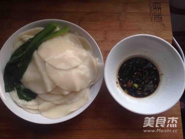 蘸汁饺子皮的简单做法