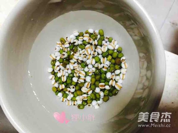 皂米绿豆薏米粥的家常做法