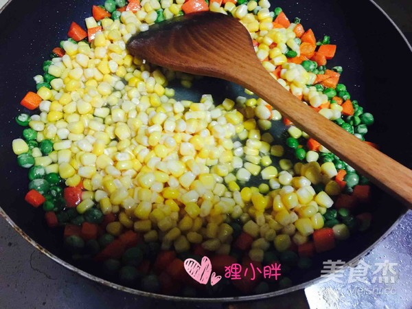 松子玉米的简单做法