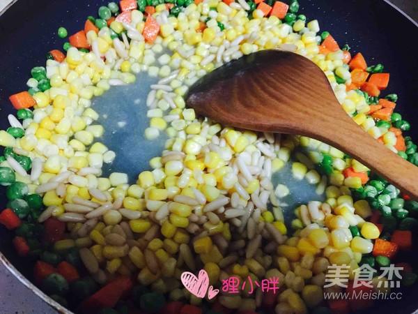 松子玉米怎么吃