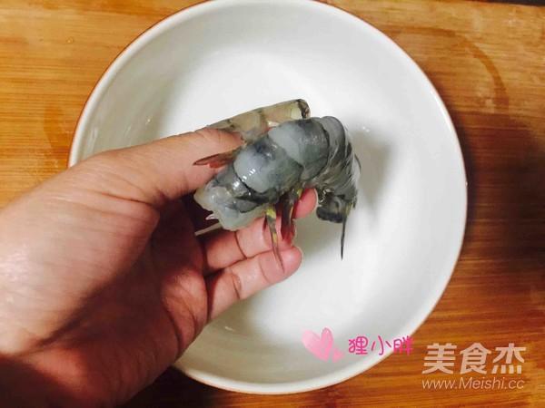 咖喱虾仁的做法图解