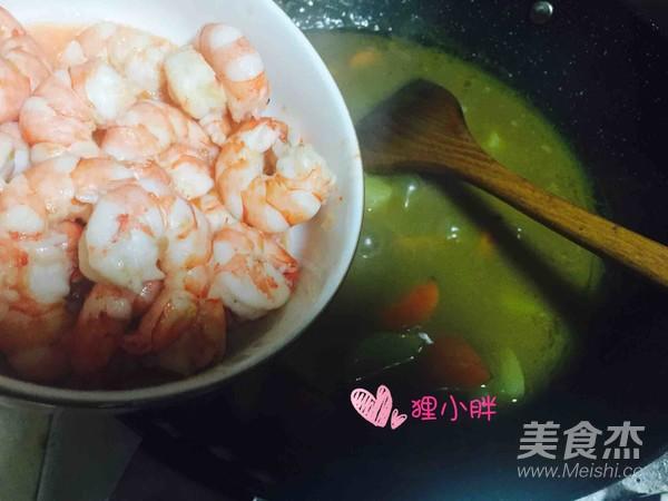 咖喱虾仁怎样煮