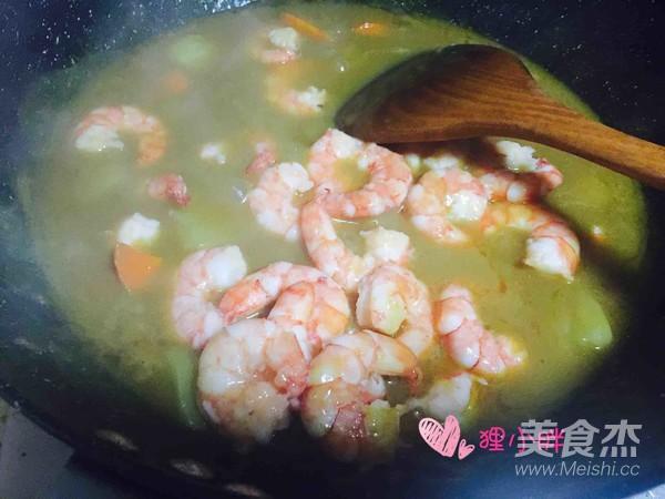咖喱虾仁怎样炖