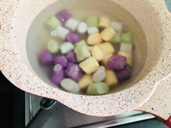 港式奶茶芋圆,Q弹软糯,奶香浓郁的做法图解