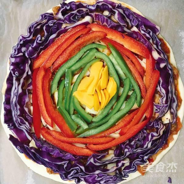 彩虹披萨怎么吃
