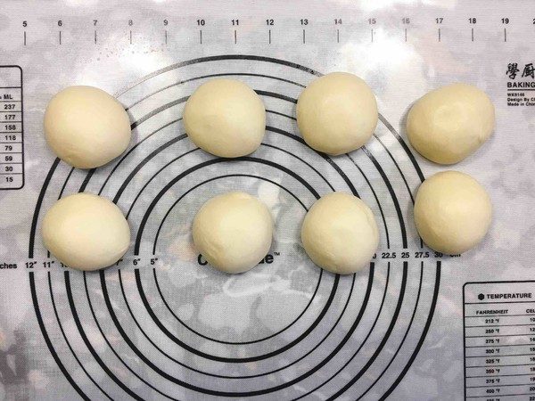 黄油奶香小面包的做法图解