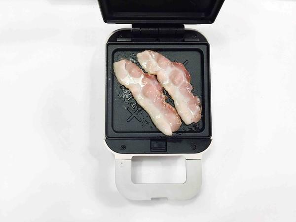 双重芝士蟹肉棒三明治的做法图解