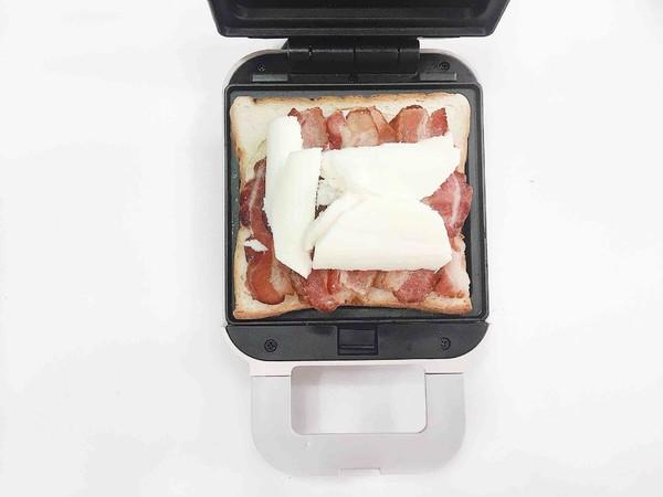 双重芝士蟹肉棒三明治的简单做法