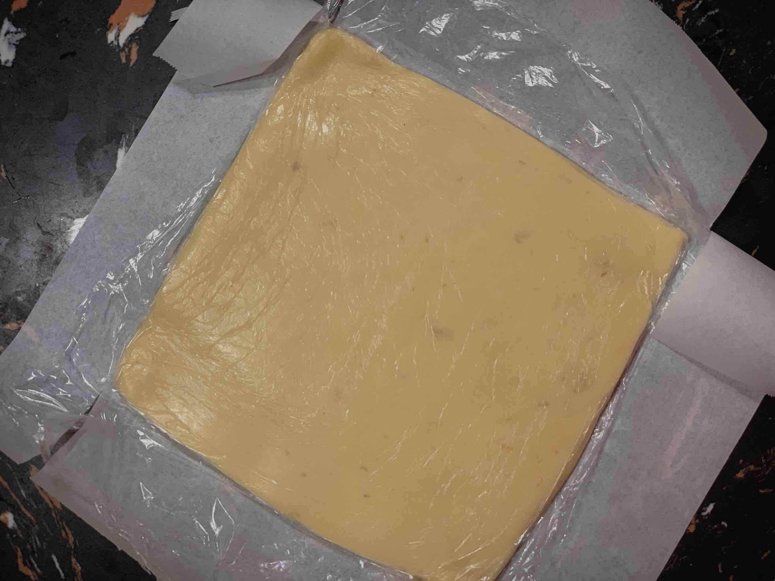 法式焦糖杏仁酥饼的步骤