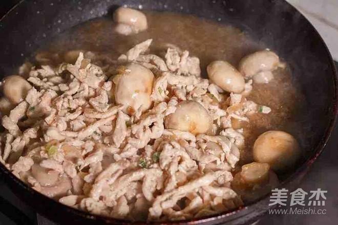 蘑菇炒鸡肉怎么炖