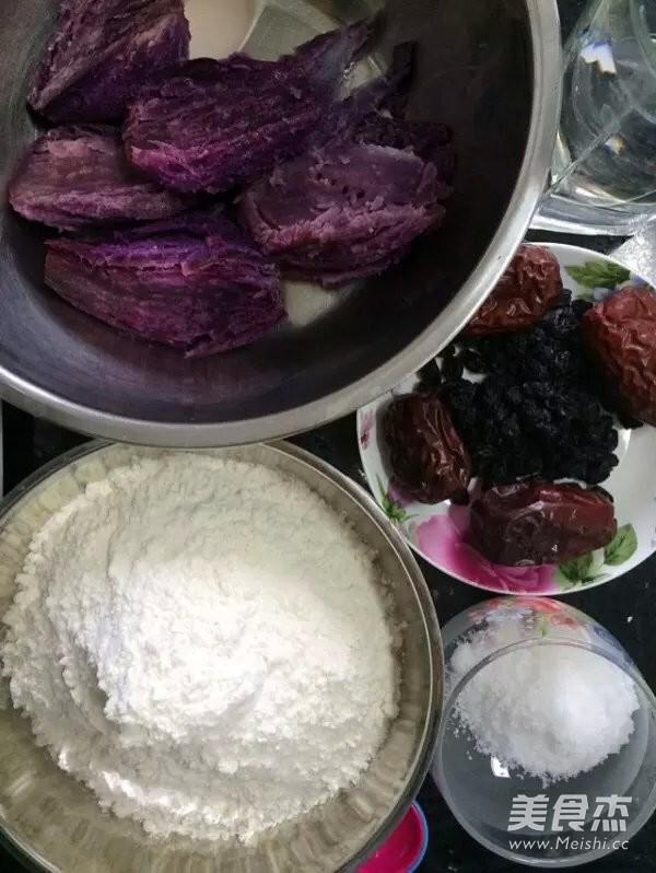 红枣紫薯发糕的做法大全