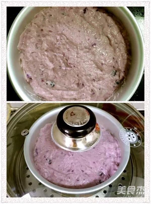 红枣紫薯发糕怎么煮