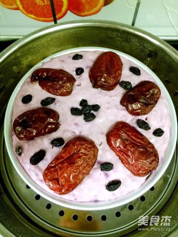 红枣紫薯发糕怎么煸