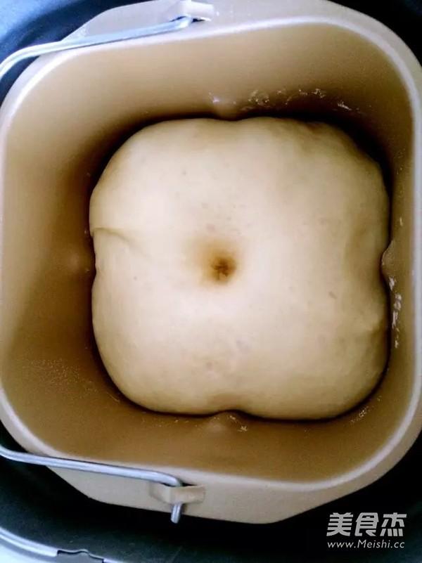 椰蓉心形小面包的家常做法