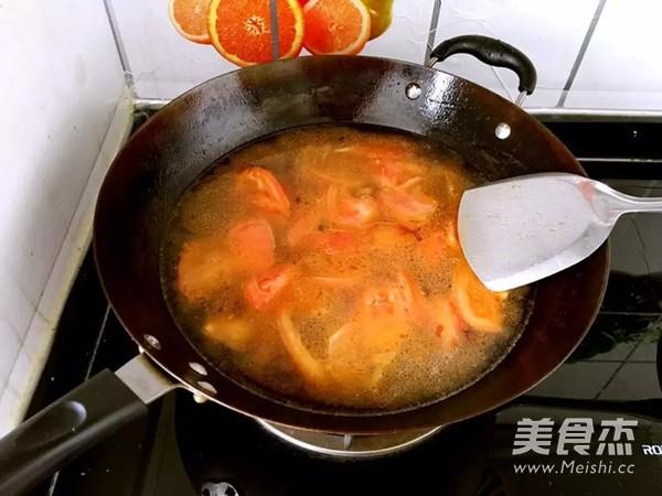 家常番茄鸡蛋面怎么做