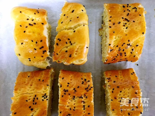 肉松面包卷的制作大全