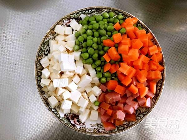 什锦豌豆丁的做法大全