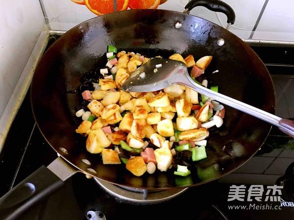 炒黄金馒头丁怎么煮