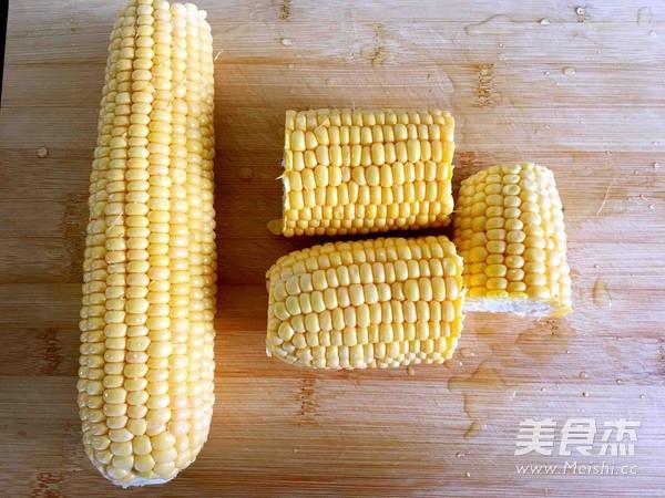 奶香玉米棒的做法图解