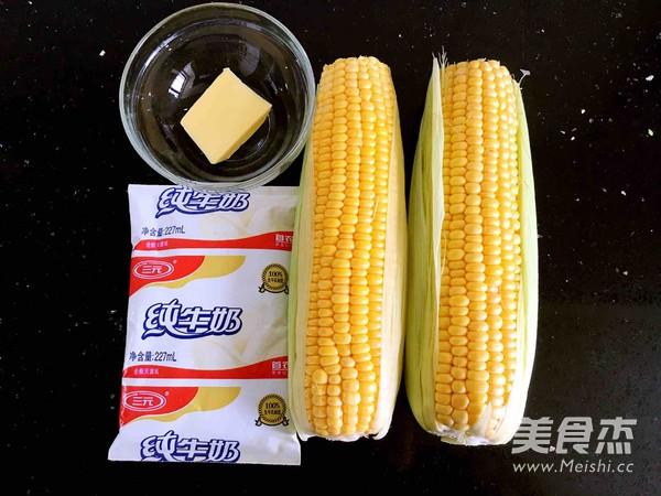奶香玉米棒的做法大全
