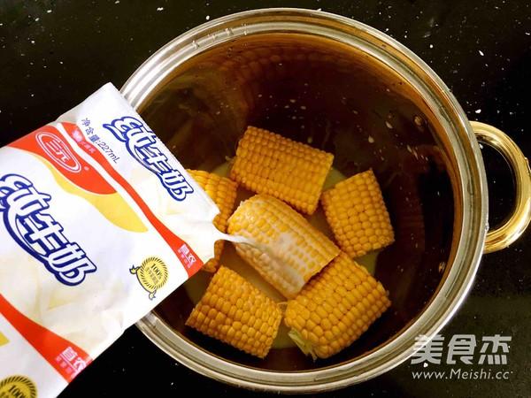 奶香玉米棒的家常做法