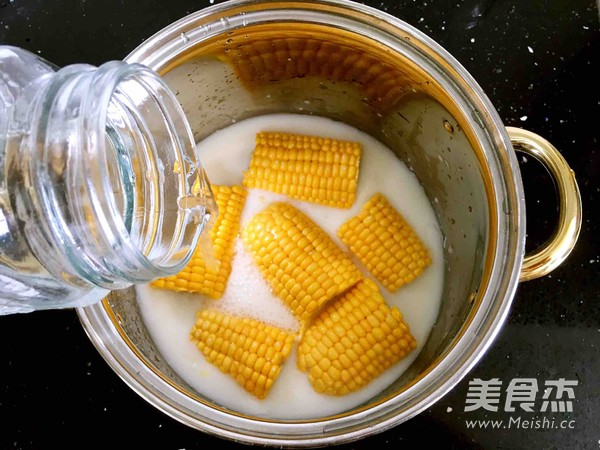 奶香玉米棒的简单做法