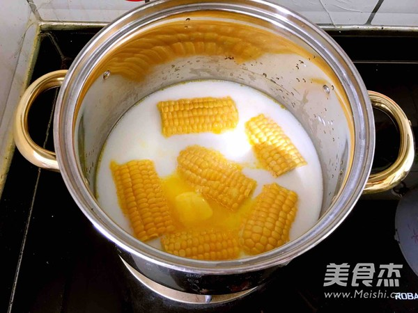 奶香玉米棒怎么做