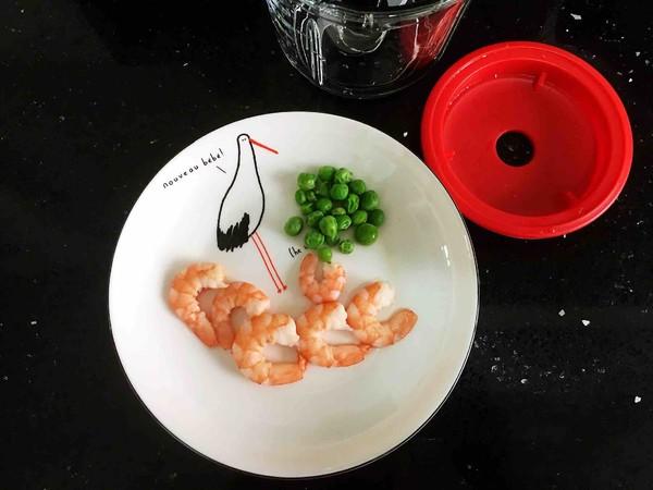 鲜虾豌豆粥的家常做法