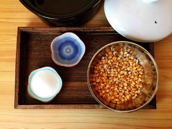 砂锅爆米花的做法图解