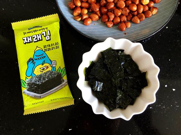 海苔花生米怎么吃