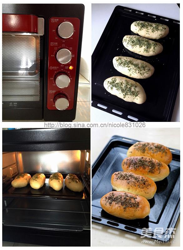 葱香薯泥面包的家常做法