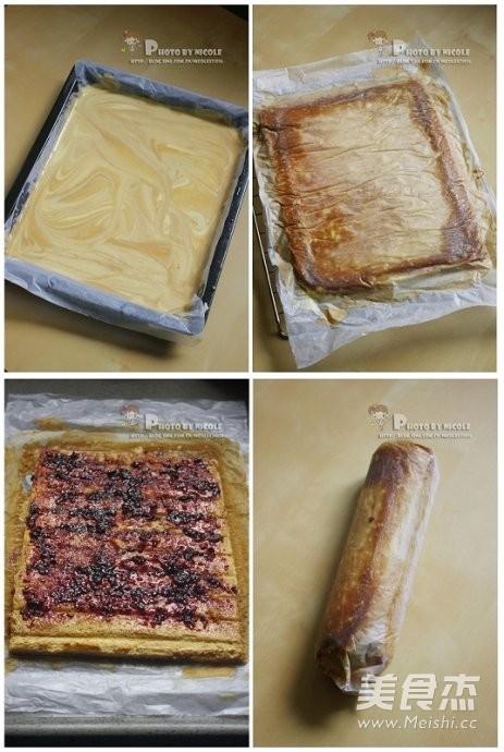 大理石咖啡蛋糕卷怎么吃