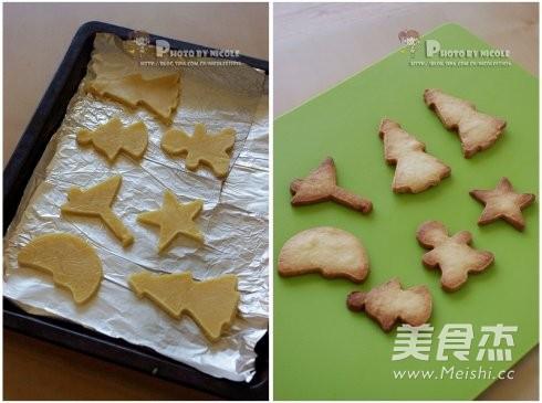 糖霜装饰圣诞饼干的做法图解
