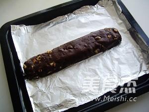 巧克力坚果脆饼的家常做法