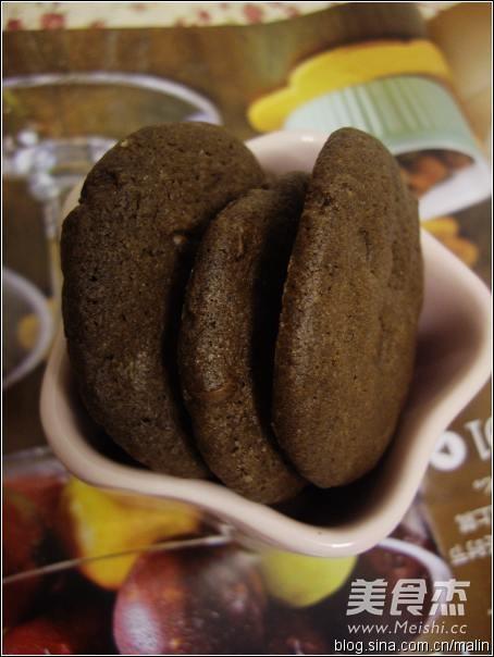 巧克力饼干成品图