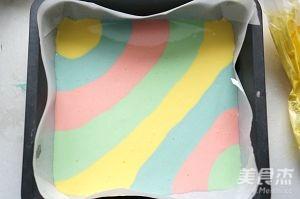 彩虹蛋糕卷怎么炖